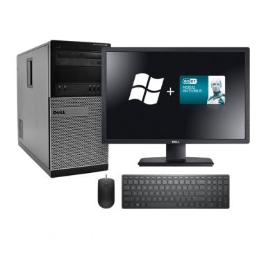 DELL OptiPlex 990 + DELL U2312HM + мишка + клавиатура + Windows 10 Home + NOD32