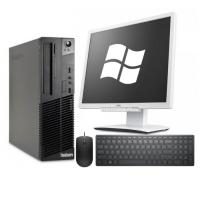 Lenovo ThinkCentre M72 + Fujitsu B19-6 LED + мишка + клавиатура + Windows 10 Home