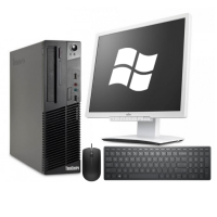 "Lenovo ThinkCentre M72 + LG E1910PM 19"" + мишка + клавиатура + Windows 10 Home"