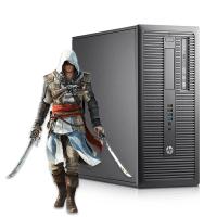 Геймърски компютър HP EliteDesk 800 G2 TWR А клас Intel Core i5, 6500 3200MHz 6MB 8192MB DDR4 128GB SSD  + 500GB HDD Tower GeForce GTX 1050 Ti Twin X2 4GB