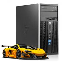 Геймърски компютър HP Compaq 6300 Pro MT А клас Intel Core i5 3470 3200Mhz 6MB 8192MB DDR3 180GB SSD  MiniTower PowerColor AMD Radeon RX550 4GB