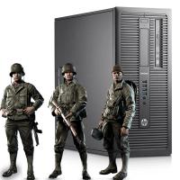 Геймърски компютър HP EliteDesk 800 G1 TWR А клас Intel Core i7 4770 3400MHz 8MB 8192MB DDR3 256 GB SSD + 500 GB HDD Tower GeForce GTX 1650 VENTUS XS 4GB
