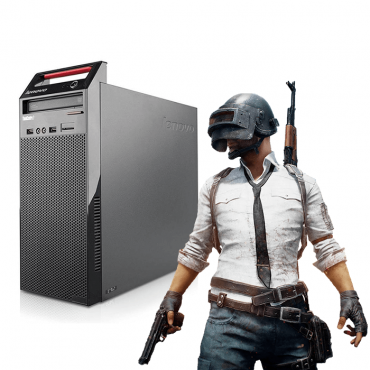 Геймърски компютър Lenovo ThinkCentre Edge 72 А клас Intel Core i5 3470S 2900Mhz 6MB 8192MB DDR3 180GB SSD + 250GB HDD MiniTower GeForce GT 1030 2GB