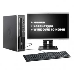 "HP Compaq Elite 8200USDT + HP Compaq LA2205wg 22"" + мишка + клавиатура + Windows 10 Home"
