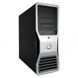 Компютър DELL Precision T7500 с процесор Intel Xeon Quad Core E5620 2400Mhz 12MB, 12GB DDR3L, 500 GB SATA