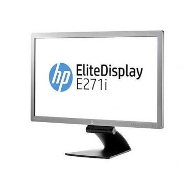 """Монитор HP EliteDisplay E271i, 27"""", 1920x1080 Full HD 16:9, 250 cd/m2, 1000:1, Silver/Black, TCO 6.0"""