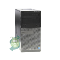 Геймърски компютър DELL OptiPlex 990 с процесор Intel Core i5 2500 3300Mhz 6MB, 8192MB DDR3, 128GB SSD + 500GB HDD, GeForce GT 1030 2GB