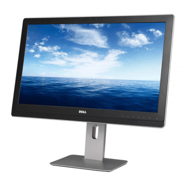 "Монитор DELL UZ2315H, 23"", 1920x1080 Full HD 16:9, 300cd/m2, 1000:1, Silver/Black, Stereo Speakers + Microphone + USB Hub, Camera, HDMI"
