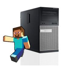 Геймърски компютър DELL OptiPlex 990 с процесор Intel Core i5 2500 3300Mhz 6MB, 8192MB DDR3, 160 GB SSD, GeForce GT710 2GB