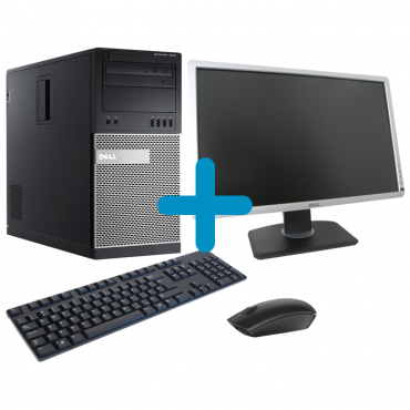 DELL OptiPlex 990 + DELL P2213 + мишка + клавиатура