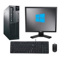 "Компютър Lenovo ThinkCentre M82 + Монитор DELL E190S 19""  + мишка + клавиатура + Windows 10 Home"
