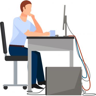 Дистанционен сервиз на компютърна техника в рамките на 1 час