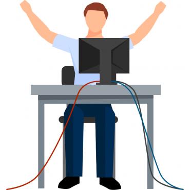 Посещение на адрес за сервиз на компютърна техника в рамките на 1 час