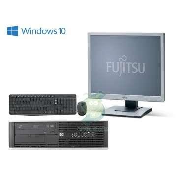 "Fujitsu B17-5 ECO А клас 17"" + HP Compaq 6005 Pro SFF + мишка и клавиатура + Windows 10 Home"