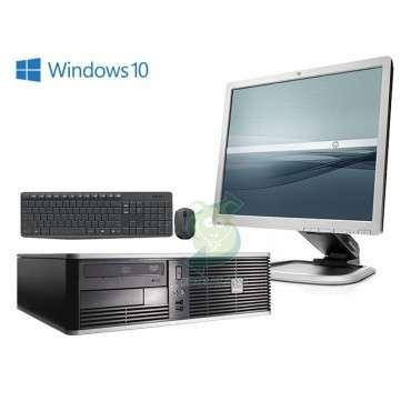 "HP Compaq LA1951g 19"" + HP Compaq dc7900SFF + мишка + клавиатура"