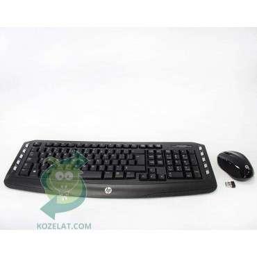Клавиатура HP Wireless Classic Desktop Keyboard and Mouse, US INT,Black