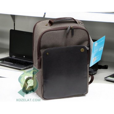 Чанта за лаптоп HP Executive Brown Backpack, P6N22AA for Notebook