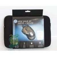 Чанта за лаптоп HP MINI VALUE KIT SLEEVE + MOUSE