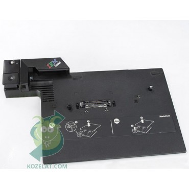 Докинг станция за лаптоп Lenovo ThinkPad R60, R61, R61i, R400, R500, T60, T60p, T61, T400, T500, W500, Z60m, Z60t, Z61m, Z61t