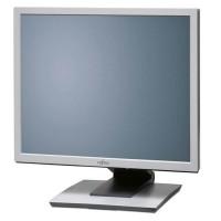 """Монитор Fujitsu-Siemens P19-3P, 19"""", 1280x1024 SXGA 5:4, 300 cd/m2, 1000:1, Black/White, Stereo Speakers"""