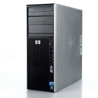 Работна станция HP Workstation Z400 с процесор Intel Xeon Quad Core, W3520 2660Mhz 8MB, 8192MB DDR3 ECC, 500GB SATA, Tower