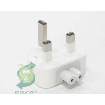 Кабел/преходник Apple UK AC plug, P/N:607-6315