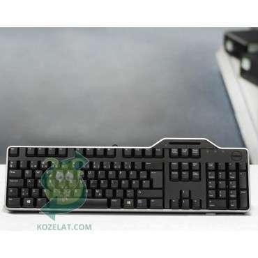 Клавиатура DELL KB813, SmartCard SWE Keyboard,Silver/Black