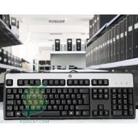 Клавиатура HP KU-0316, FIN Keyboard,Silver/Black