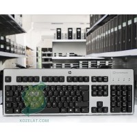 Клавиатура HP KUS0133, SmartCard CCID Swedish Keyboard,Silver/Black