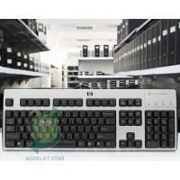 Клавиатура HP KUS0133, SmartCard CCID US Int. Keyboard,Silver/Black