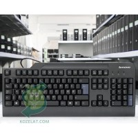 Клавиатура Lenovo KU-0225, Danish Keyboard,Black