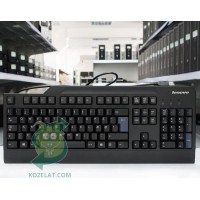 Клавиатура Lenovo SK-8825, Danish Keyboard,Black