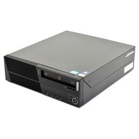 Компютър Lenovo ThinkCentre M91p с процесор Intel Core i5, 2400 3100Mhz 6MB, 8192MB DDR3, 250 GB SATA, Slim Desktop