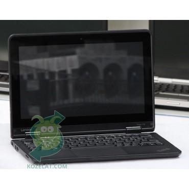 Лаптоп Lenovo ThinkPad Yoga 11e с процесор Intel Celeron Dual-Core, N2930 1830MHz 2MB, 4096MB So-Dimm DDR3, 128 GB 2.5 Inch SSD, 11.6 1366x768 WXGA LED 16:9, HDMI, IPS, Touchscreen