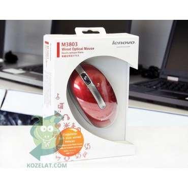 Мишка Lenovo M3803, Red Mouse