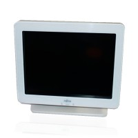 "Тъч монитор Fujitsu 3000LCD12, 12.1"", 800x600 SVGA 4:3, 200 cd/m2, 250:1, White, TCO03, Stereo Speakers"