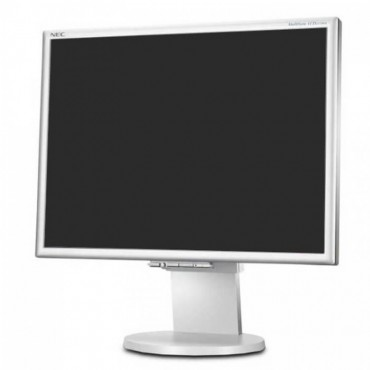 "Монитор NEC 195NX, 19"", 1280x1024 SXGA 5:4, 300 cd/m2, 1000:1, Silver/White, Stereo Speakers"