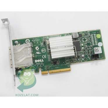 PCI контролер за компютър DELL H200E, 6Gbps HBA Dual-Port External Controller Adapter