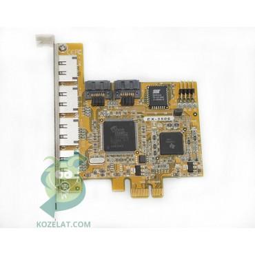 PCI контролер за компютър Exsys EX-3506