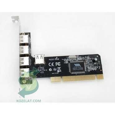 PCI контролер за компютър Различни марки VIA PI2212-15X2B