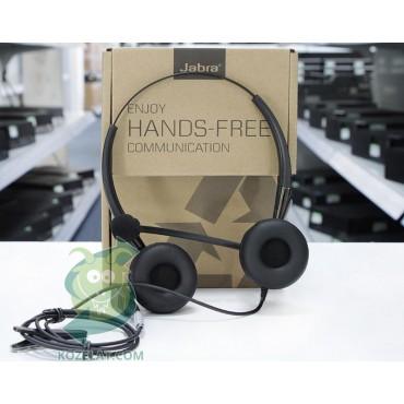 Слушалки Jabra BIZ 2400 Headset Duo, USB P/N 2409-790-104