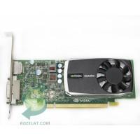 Видео карта за компютър nVidia Quadro 600, RAM 1024MB DDR3,  Profile:Standard