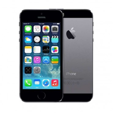 "Смартфон Apple iPhone 5S A1457 Space Gray  Apple A7 iOS 10 640x1136 pixels 4"" Camera 8MP, LTE 1GB RAM, 16GB, NO CABLE"