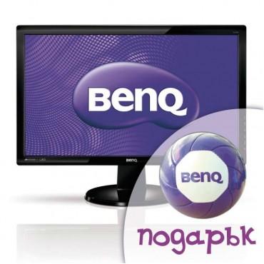 Монитор BenQ GL2250 с подарък футболна топка