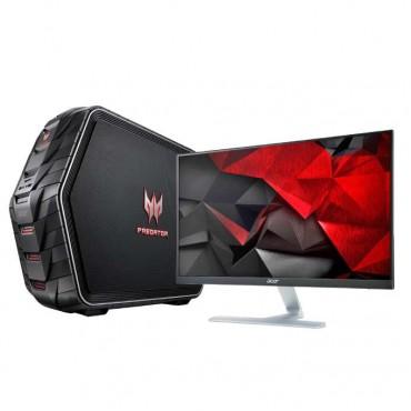 """Настолен компютър Acer Predator G6-710 в пакет с Монитор 23"""" Acer RT0 RT240Y"""