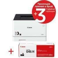 Canon i-SENSYS LBP654Cx + Canon CRG-046H BK