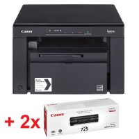 Canon i-SENSYS MF3010 Printer/Scanner/Copier + 2x Canon CRG725 Toner Cartridge