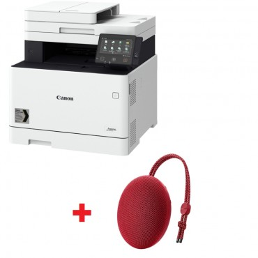 Canon i-SENSYS MF744Cdw Printer/Scanner/Copier/Fax + Huawei Sound Stone portable bluetooth speaker CM51 Red
