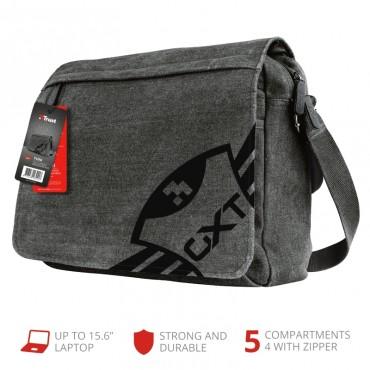 Чанта за лаптоп TRUST GXT 1260 Yuni Messenger Bag, Grey