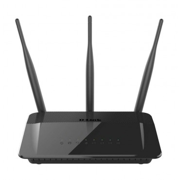 D-Link Wireless AC750 Dual Band 10/100 Router with external antenna